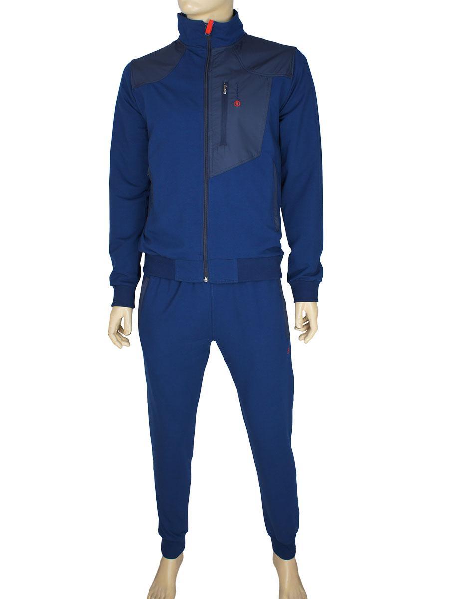 Чоловічий трикотажний спортивний костюм Fabiani 590296 A. Dblue-A. Dblue