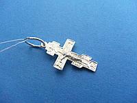 Cеребряный Нательный Крестик на крестины