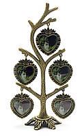 """Фоторамка """"дерево"""" (5 фото) (20,5х9х6,5 см)(9225)"""