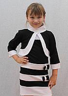 Стильное платье для школы+болеро