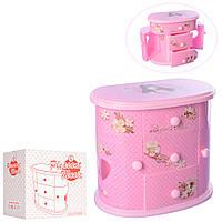 Детская Шкатулка X14452 (Розовый) подарок для девочек