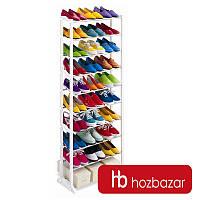 Полка для обуви / Стеллаж на 30 пар / Amazing Shoe Rack