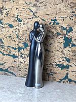 Статуэтка влюбленных металическая большая