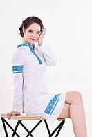 Традиционное украинское платье вышиванка Купава с этническим орнаментом