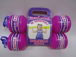 """Гантели малые """"Максимус"""", для девочек, 5256Д"""