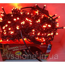 Новорічна світлодіодна гірлянда 300 LED Червоний