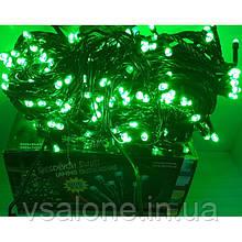Новорічна світлодіодна гірлянда 300 LED Зелений