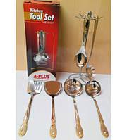 Набор кухонных принадлежностей 7 предметов A Plus 1448