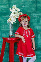 Плаття для дівчинки Малятко червоне