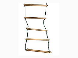 Лестница веревочная деревянная Л190
