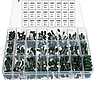 Полиэстеровый пленочный конденсатор набор 660шт по 24 сортированных 0.47nF 0.68nF 1nF 2.2nF и алюминиевый