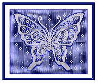 "В'язаний декор ""Метелик"" (142-143), фото 1"