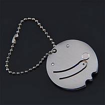 Портативный мини-складной нож Stianless Steel Карабин Брелок Pocket На открытом воздухе Военный Выживание - 1TopShop, фото 3