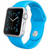Умные часы Apple Watch SPORT Aluminum silver White.blue.green.black.pink 38mm