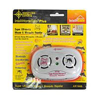 🔝 Відлякувач гризунів та комах, AR 166B, ультразвуковий відлякувач мишей, електронний | 🎁%🚚