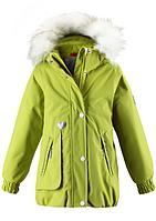 Детские зимние куртки для девочек ReimaTec ZERLINDA 521362 - 8390. Размер 104 .