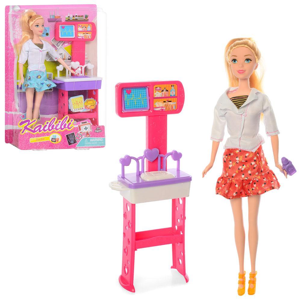 Кукла 30см, набор доктора, 2 вида, BLD129