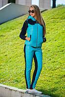 Женский спортивный костюм тройка дг781, фото 1