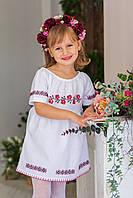 Плаття для дівчинки Малятко Трояндочка з вишивкою