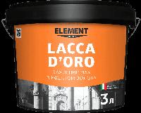 "Защитний лак LACCA D'ORO ""ELEMENT DECOR"""