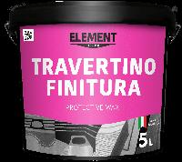 """Защитный воск TRAVERTINO FINITURA """"ELEMENT DECOR"""""""