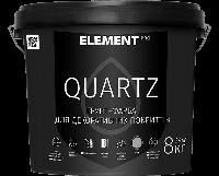Грунт-краска для декоративных покрытий QUARTZ, белая