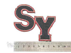 Нашивка SY 85x70 мм, фото 2