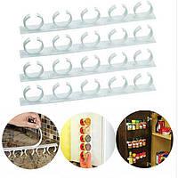 Универсальный кухонный органайзер для шкафов и холодильников Clipn Store 154154