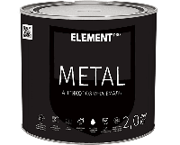 Антикоррозийная эмаль METAL, зеленая