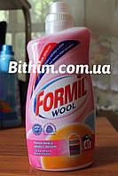 Гелеобразный стиральный порошок Formil Wool 1,5л.(Для шерсти) Германия