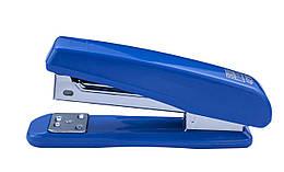 Степлер пластиковый до 20 лист, (скобы №24, 26), синий, BM.4210-02