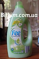 Гелеобразный стиральный порошок Fee 1,5л(Для шерсти и шелка)(зеленая гармония)Германия