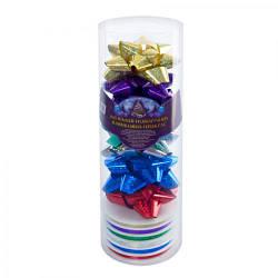 Набор декора для праздничной упаковки 5м (6 бантов, 1 лента) 8993