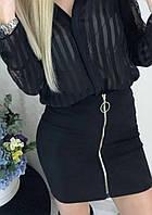 """Женская мини-юбка с молнией """"Dana"""""""
