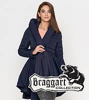 Braggart Youth   Женская весна-осень куртка 25755 синяя