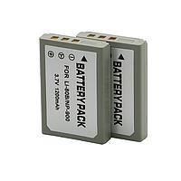 Aккумуляторная батарея Alitek для Olympus Li-80, NP-900, 1200 mAh, фото 1