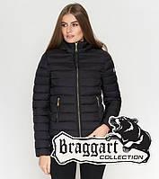 Braggart Youth   Женская весенне-осенняя куртка 25115 черная