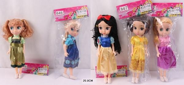 "Кукла ""Принцесса Диснея"", 5 видов, 846/7"