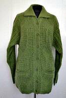 Удлиненная женская кофта из шерсти большого размера производитель Индия