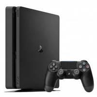 Игровая приставка Sony PlayStation 4 Slim 1Tb (PS4 Slim) Black: Horizon+ Uncharted 4++