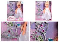 """Кукла """"Невеста"""", с короной, волшебной палочкой, аксессуары, 88009"""