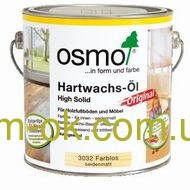 Масло с твердым воском для дерева , Hartwachs-OI 3032, OSMO 2,5 л.