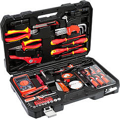 Набір електрика YATO YT-39009,набір інструментів 68 штук