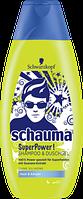 Schauma Aufbau-Shampoo Keratin Kraft - Шампунь+гель душь для восстановления волос + каратин 400 мл