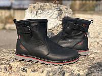 Мужские зимние ботинки кожа Levis Le0014