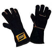 Краги (рукавицы) сварщика Heavy Duty Black ESAB