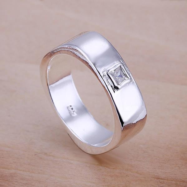 Кольцо женское квадрат