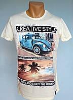 Мужская нарядная футболка Daniel and Jones - №1085