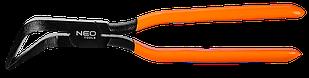 Клещи для кровельных работ изогнутые 45°, сталь Cro-Mo, HRC 28-32, (L x W) 275 x 60 мм NEO Tools 31-075