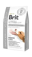 Сухой корм для собак Brit Veterinary Diet Dog Joint & Mobility при заболеваниях суставов 2кг